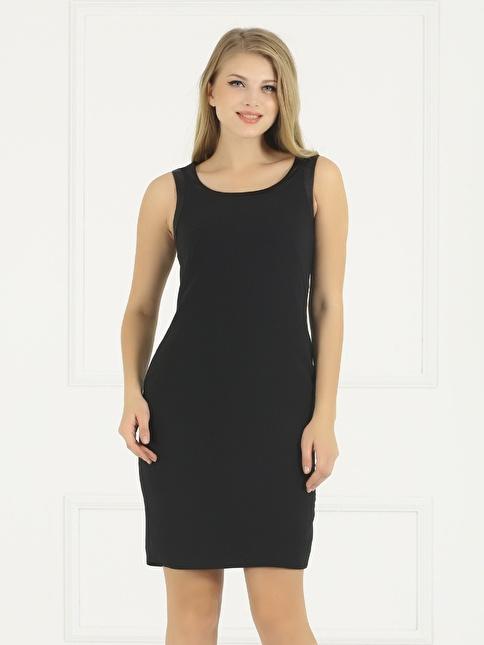 Faik Sönmez Elbise Siyah